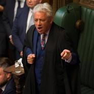 John Bercow hat seinen Rücktritt als Präsident des britischen Unterhauses angekündigt.