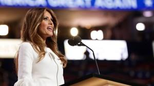 Plagiatsvorwürfe gegen Melania Trump