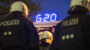 Berliner Polizisten aus Hamburg abgezogen