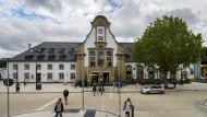 Der Bahnhof von Marburg (Archivbild)