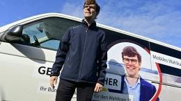 Zu Besuch in Merkels Wahlkreis