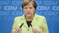 Merkel rät SPD zu GroKo-Bekenntnis