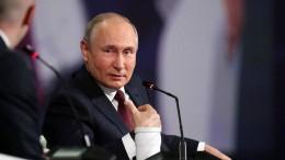 Erpresst Putin die Ukraine?