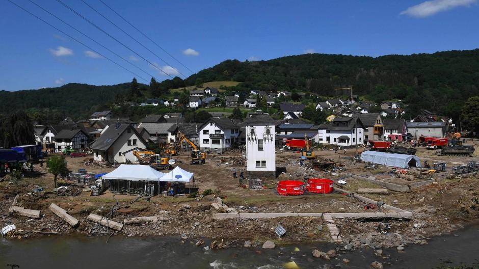 """Hart getroffener Ort Schuld: Für die betroffenen Regionen sei ganz konkret vor """"Lebensgefahr"""" gewarnt worden, sagt Jeff Da Costa."""