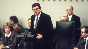Früherer Bundestagspräsident Jenninger gestorben