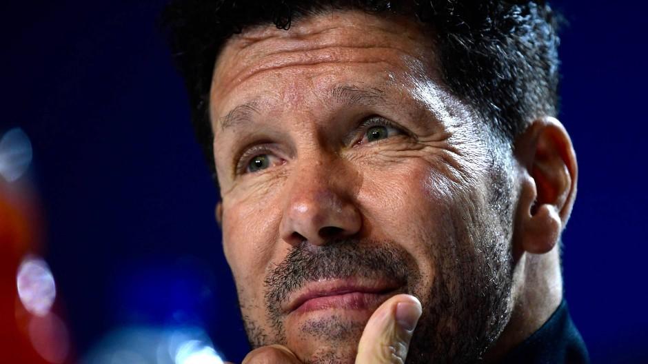 Trainer Diego Simeone: Einer, der das Kollektiv liebt und die Individualisten vertreibt.