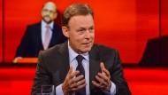 """SPD-Fraktionschef Thomas Oppermann bei """"Hart aber fair"""""""