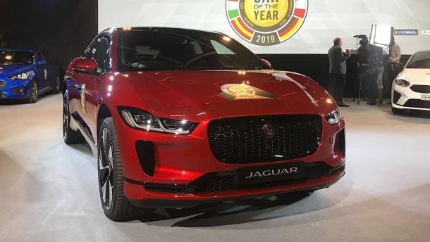 Elektrischer Jaguar gewinnt Car of the Year 2019