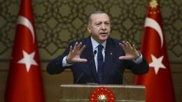 Erdogan warnt vor weiterer Erdgassuche an der Küste Zyperns