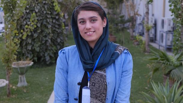Diese Frau ist Afghanistans Zukunft