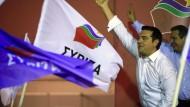 Weiterverhandeln mit Tsipras
