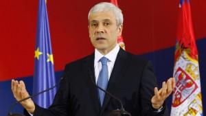 Präsident Tadić tritt für Neuwahl vorzeitig zurück