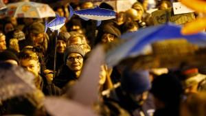 6000 Sardinen gegen Salvini