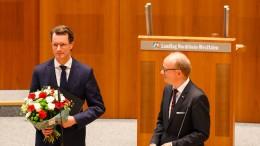 Hendrik Wüst zum neuen Ministerpräsident von NRW gewählt
