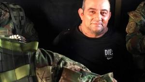 Kolumbiens meistgesuchter Drogenboss festgesetzt
