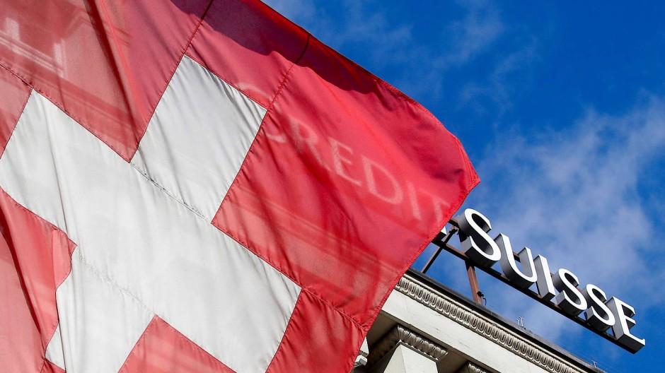 Auch die Credite Suisse gehört zu den getesteten Banken in der Schweiz.