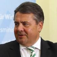 Diskussion über Freihandel: Amerikas Finanzminister Jack Lew und Deutschlands Wirtschaftsminister Sigmar Gabriel.