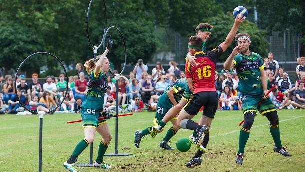 Australien ist Weltmeister im Quidditch