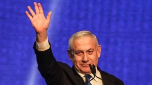 Netanjahu fordert Bildung großer Koalition