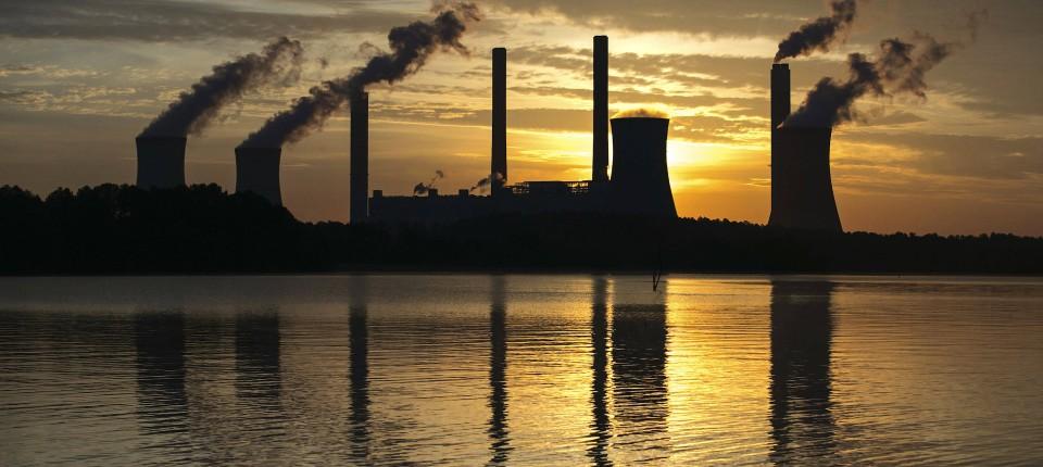 Der Kohlendioxid-Ausstoß sinkt