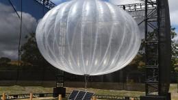 Google gibt Ballonprojekt zur Internet-Versorgung auf