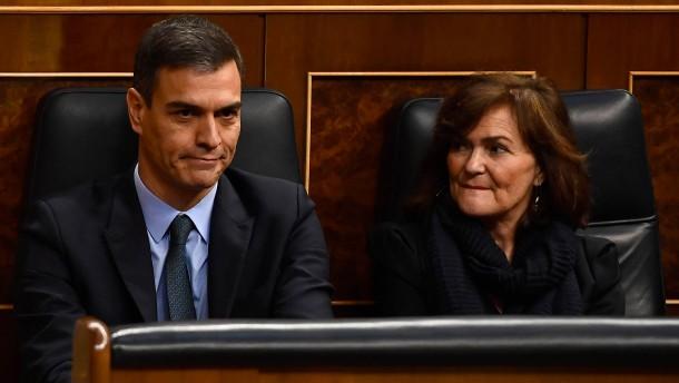 Spaniens Regierung steht schon wieder vor dem Aus