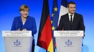 Merkel und Macron planen Europa