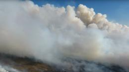 Moorbrand im Emsland schwer zu löschen