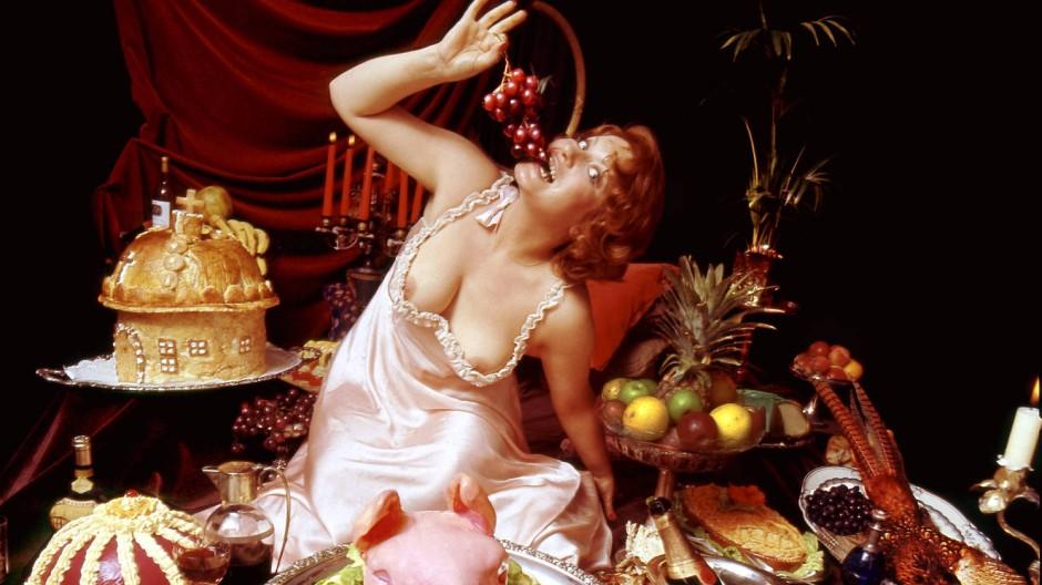 """Es ist angerichtet: Im Film """"Das große Fressen (1973) mit Andrea Ferreol fehlt es kulinarisch an nichts"""