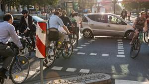 Mit dem Fahrrad durch die Giftwolke