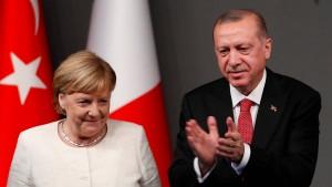 Merkel ruft Türkei zu Zurückhaltung in Syrien auf