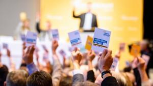 Freie Wähler geben Parteiführung Freibrief für Verhandlungen mit CSU