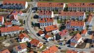 Neubauten in München: Reicher geworden ist vor allem, wer ein Haus hat.