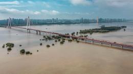 Überschwemmungen in Südchina
