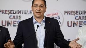 Ponta und Iohannis in der Stichwahl um Präsidentenamt