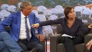 Fühlte sich provoziert und hielt es nicht mehr aus: CDU-Politiker Wolfang Bosbach in der Sendung von Sandra Maischberger