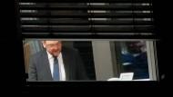 Martin Schulz in der Nacht zum 6. Februar während der Koalitionsverhandlungen zwischen Union und SPD im Konrad-Adenauer-Haus in Berlin