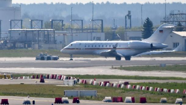 Bundeswehr-Jet entgeht nur knapp einem Unglück