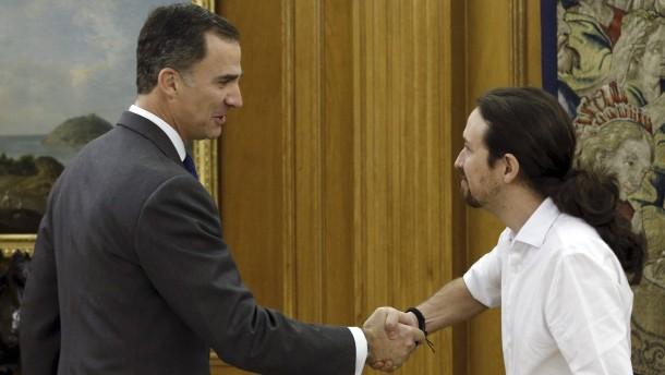 Podemos will mit Sozialisten regieren