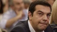 Umfrage sieht Syriza nicht mehr vorn