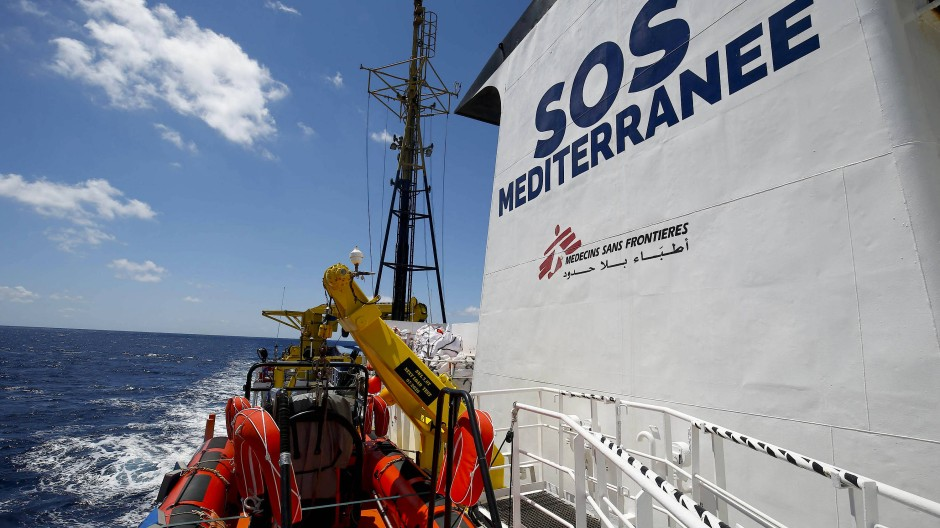 """Ocean Viking"" soll Flüchtlinge vor dem Ertrinken retten"