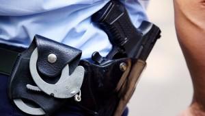 Polizisten erschossen 2018 in Deutschland elf Menschen