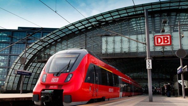 Die Deutsche Bahn spricht wieder deutsch