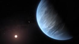 Wasserdampf in Atmosphäre des Planeten K2-18b entdeckt