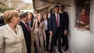 Merkel macht Syrern kaum noch Hoffnung auf Deutschland