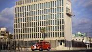 Die Botschaft der Vereinigten Staaten in Havanna