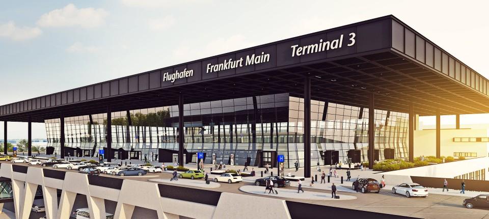 Frankfurter flughafen bau von terminal 3 verz gert sich for Graphic design frankfurt