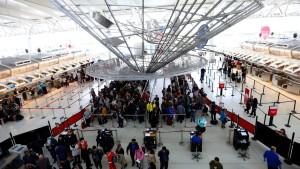 Fiebermessung an amerikanischen Flughäfen
