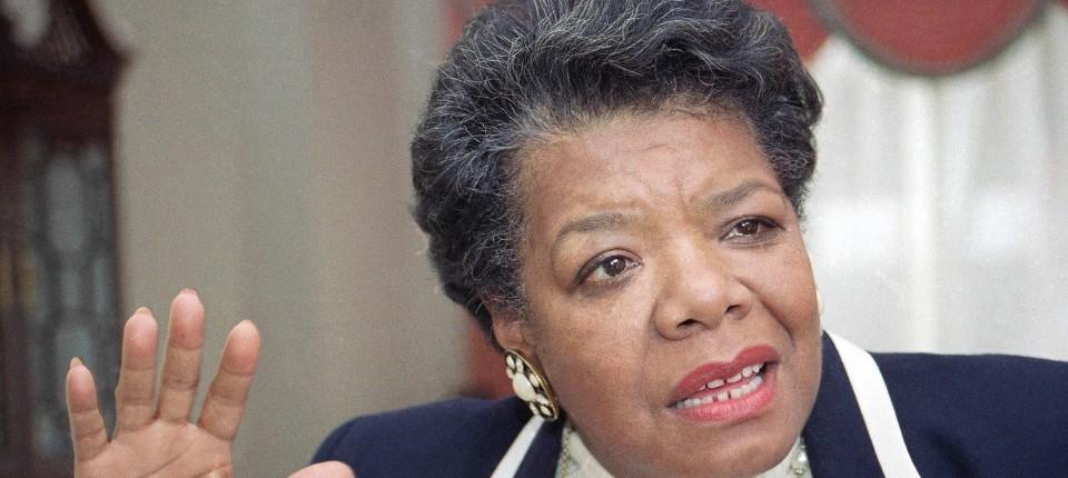 Maya Angelou Sie War Amerikas Volksdichterin