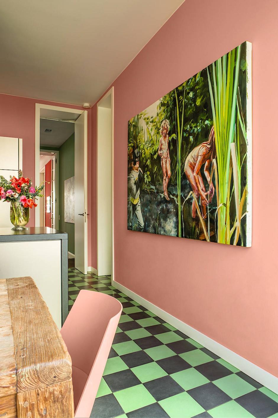 neue wandfarbe paula s kitchen. Black Bedroom Furniture Sets. Home Design Ideas